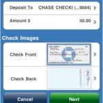 Chase iPhone Deposits Screenshot
