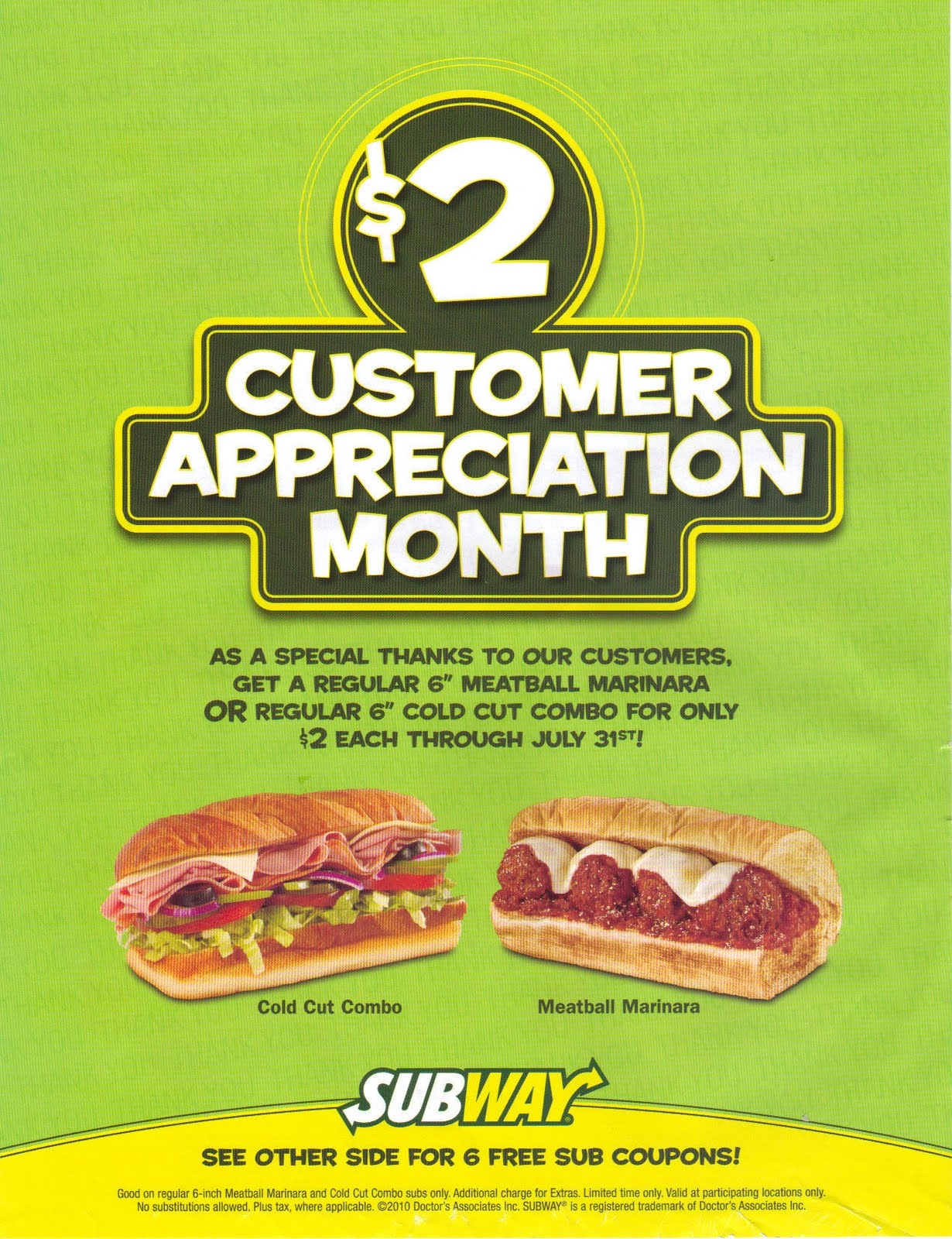 "For $6, get a Footlong ""Sub of the Day."" Here's Subway is perfect for a quick, ""cheap"" and healthier lunch option, even more so with its latest special."