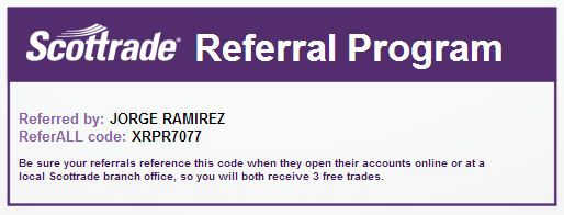 Scottrade Referral Program